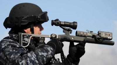 military-laser-noise-gun